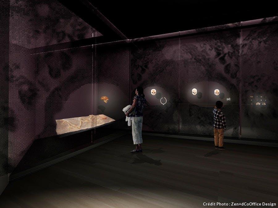 vue 3D de l'espace d'où venons-nous ?