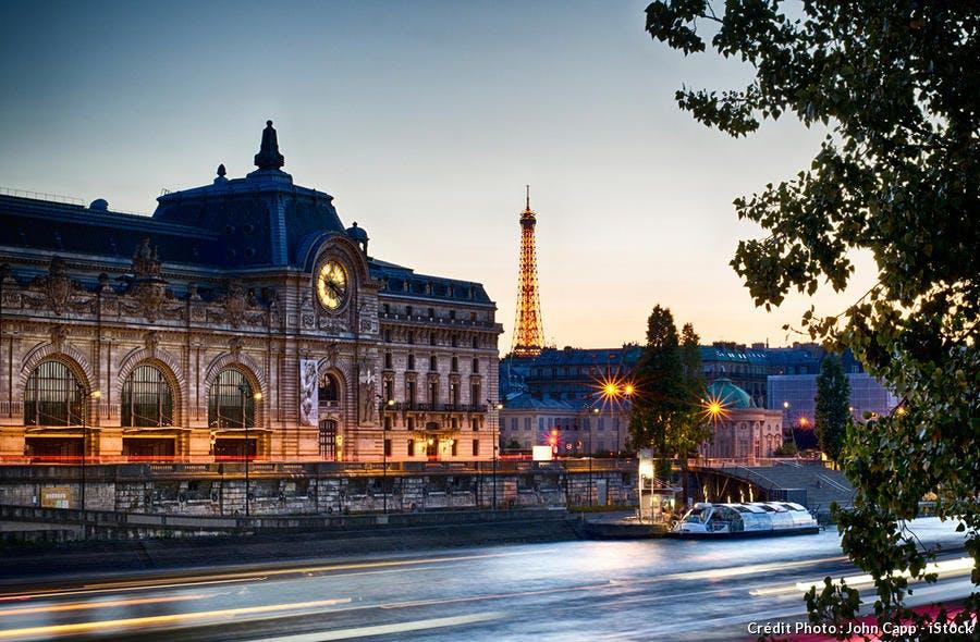 Le Musée d'Orsay, l'un des monuments de Paris les plus visités