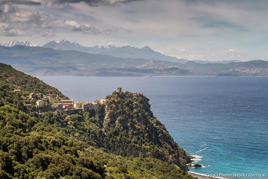 Panorama sur Nonza