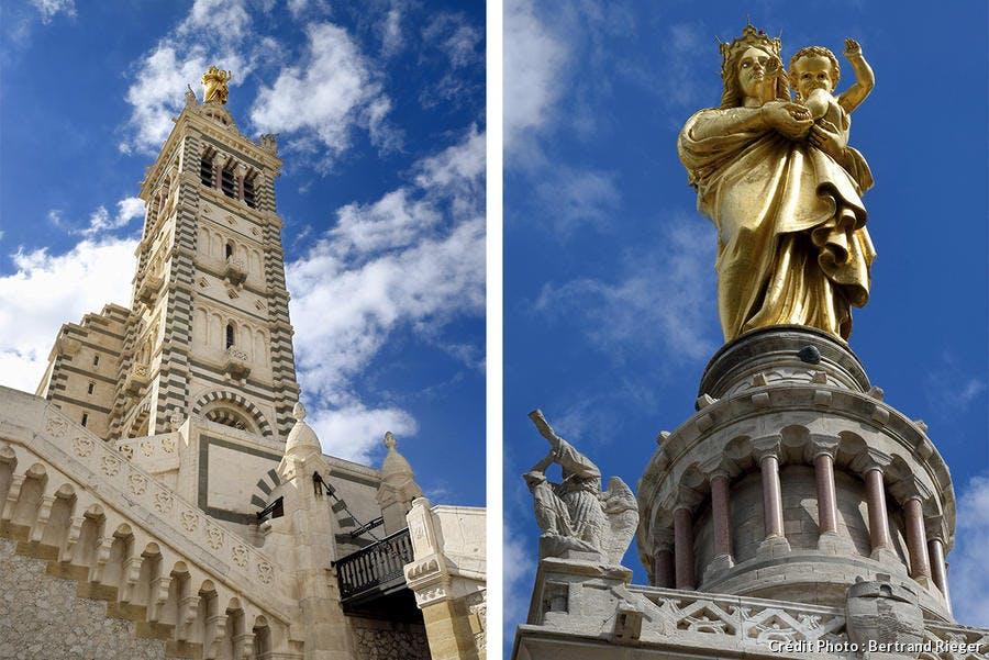 Statue de la Bonne Mère