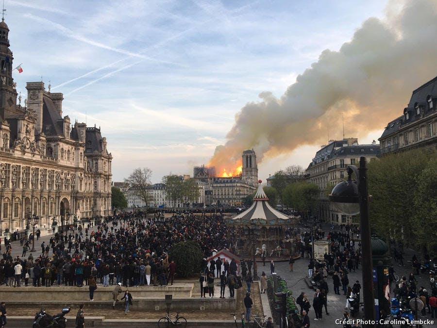 Incendie à Notre-Dame-de-Paris