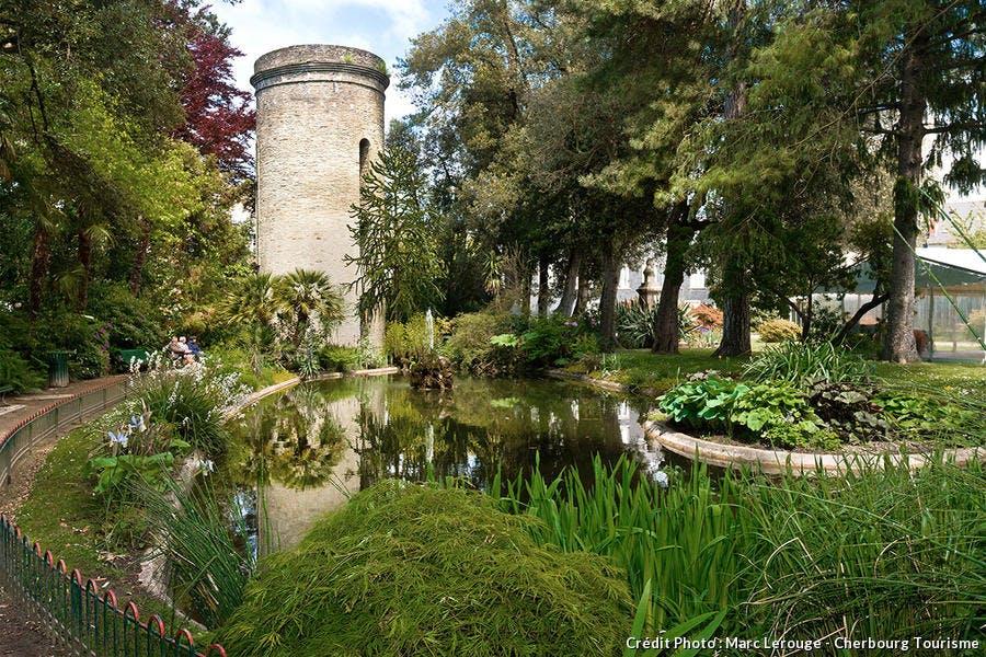 Le parc Lilais à Cherbourg