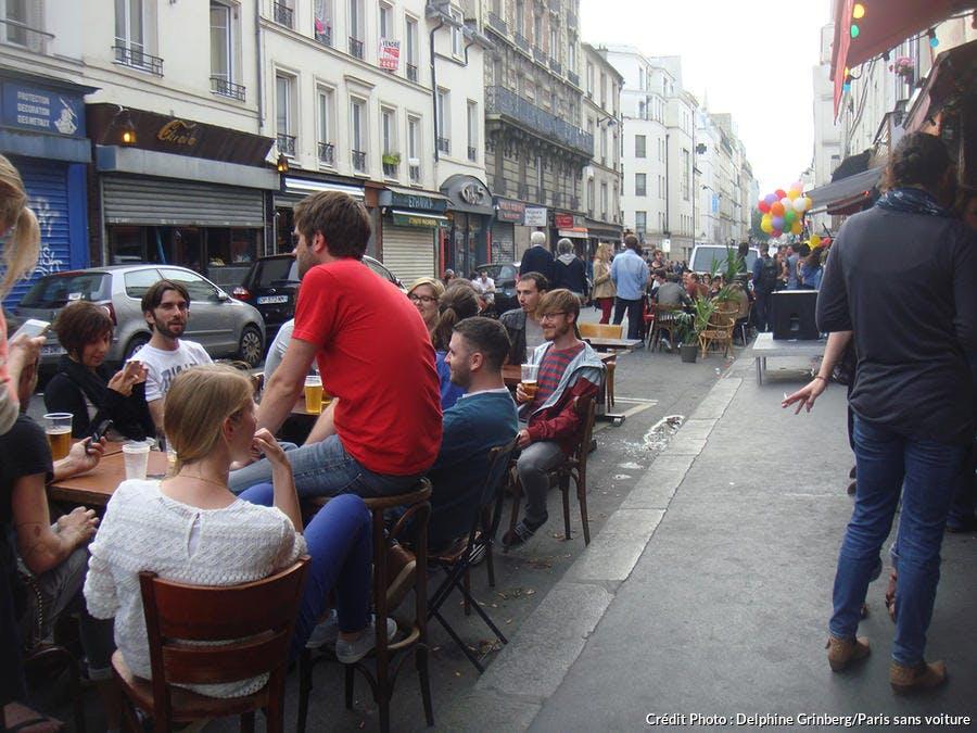 La rue Saint Maur