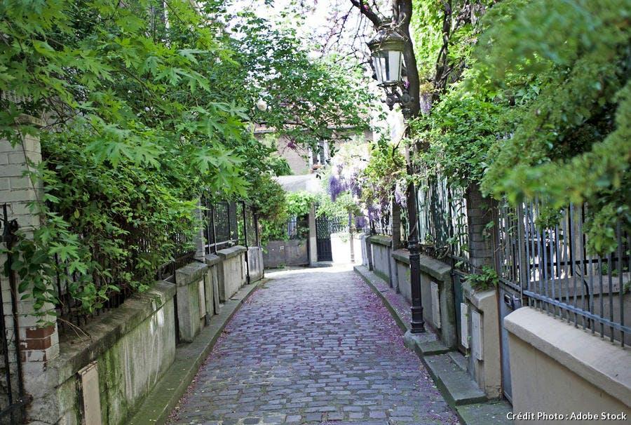 Buttes aux cailles à Paris