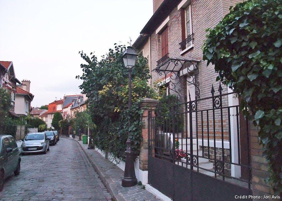 La campagne à Paris dans le XXe arrondissement