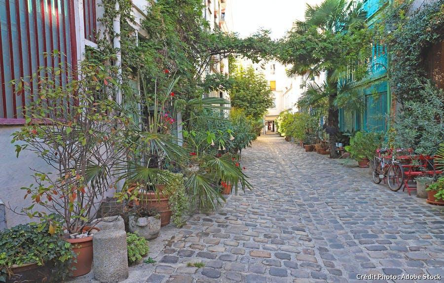 Cité du Figuier à Paris