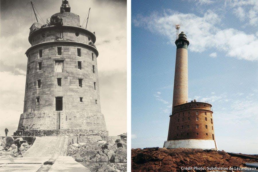 Le phare breton des Roches-Douvres