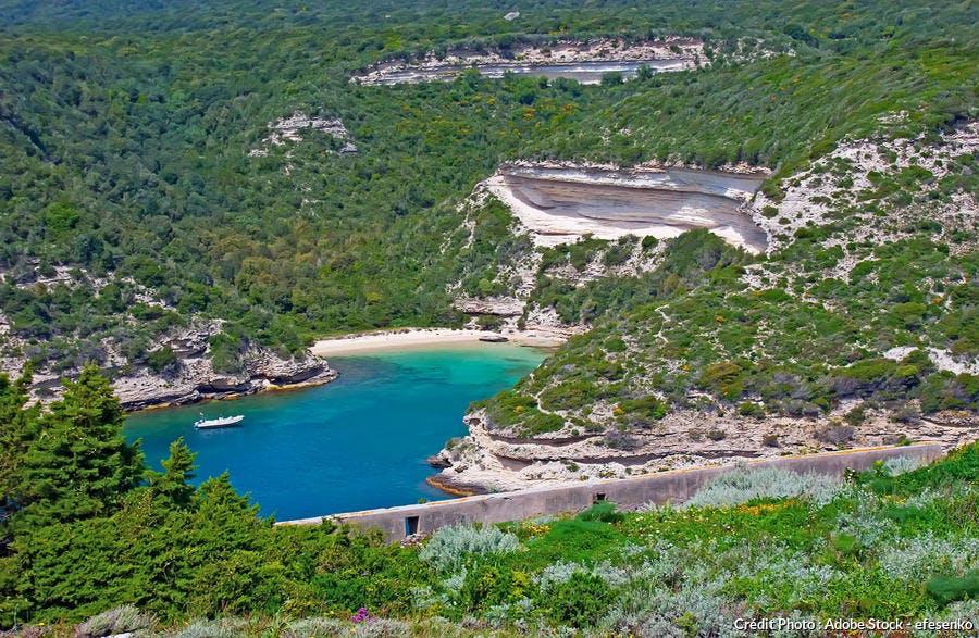 Calanque d'Arinella en Corse