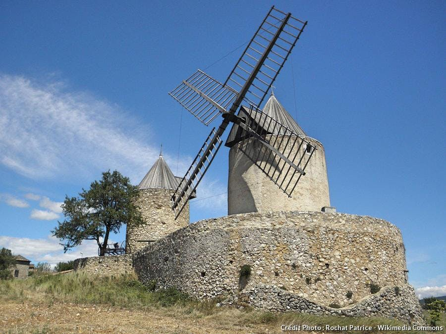 Les moulins de Régusse