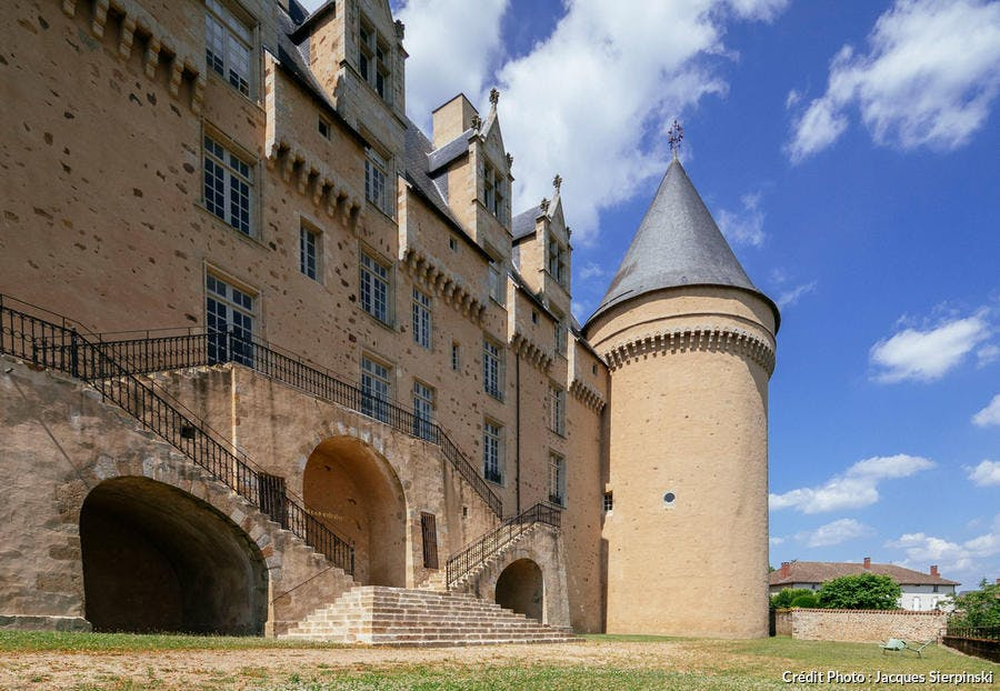 Le château de Rochechouard