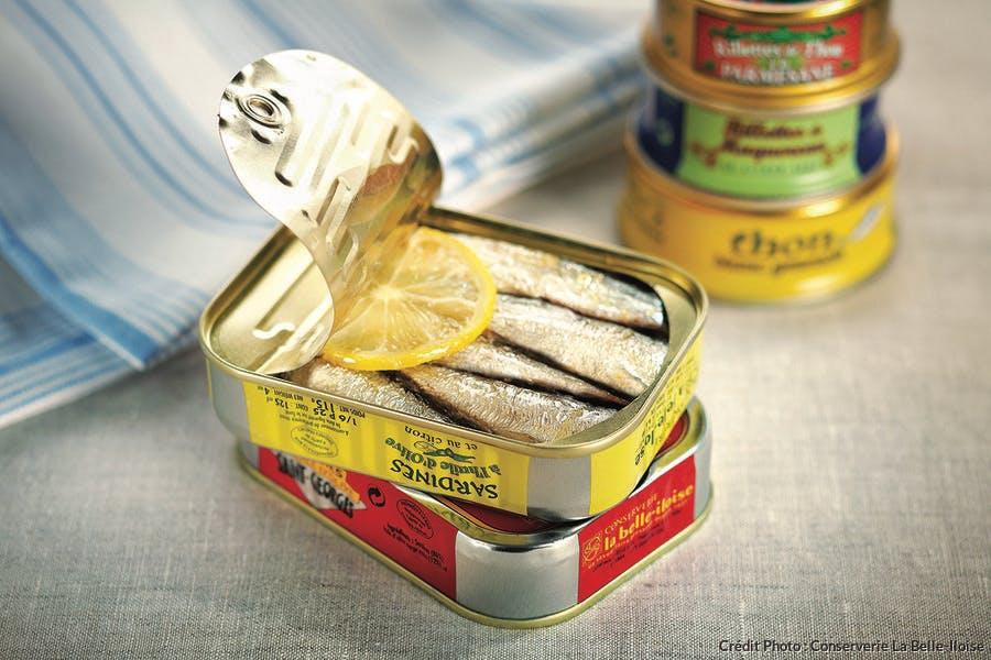 Sardines la Belle Iloise