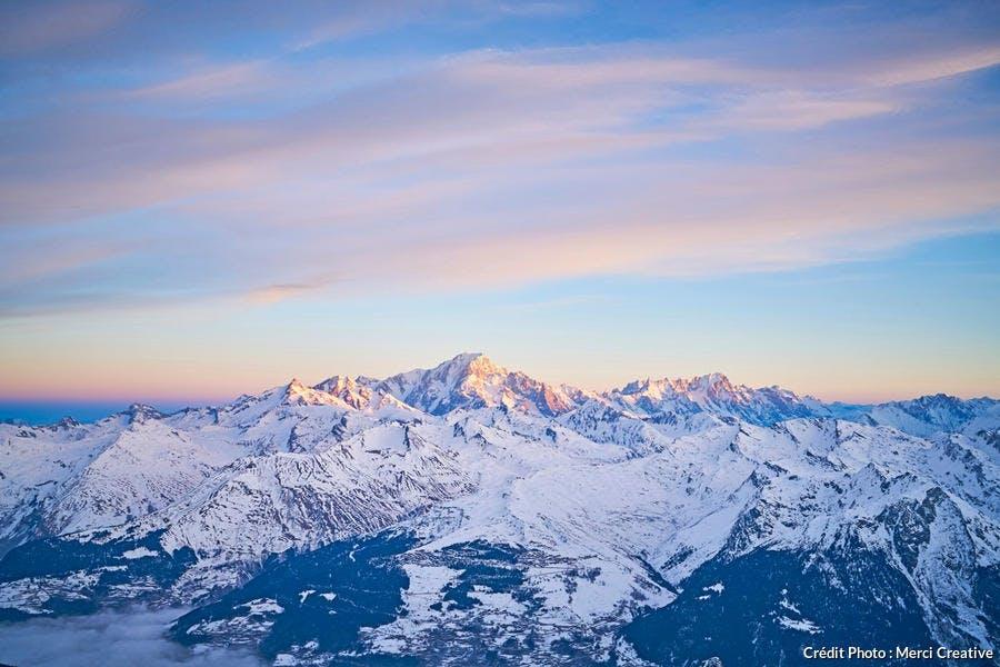 Le domaine skiable des Arcs