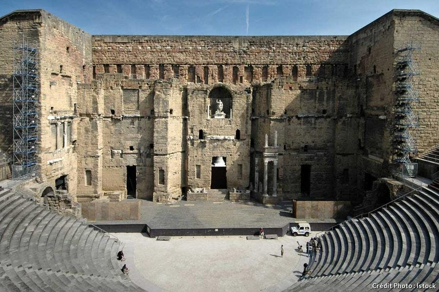 Le théâtre antique d'Orange