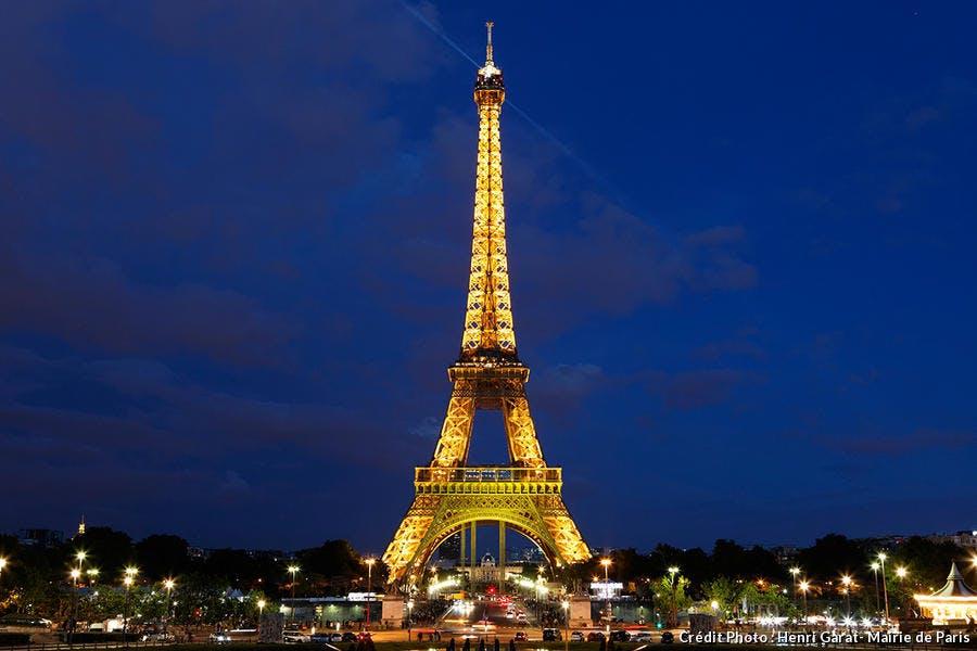 La Tour Eiffel, monument parisien le plus célèbre