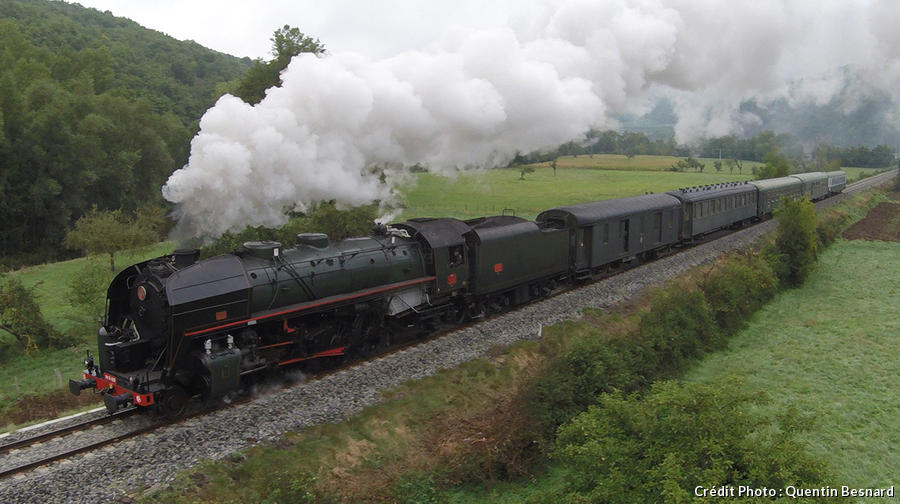 Train à Vapeur d'Auvergne