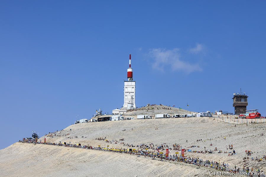 Le mythique Mont Ventoux