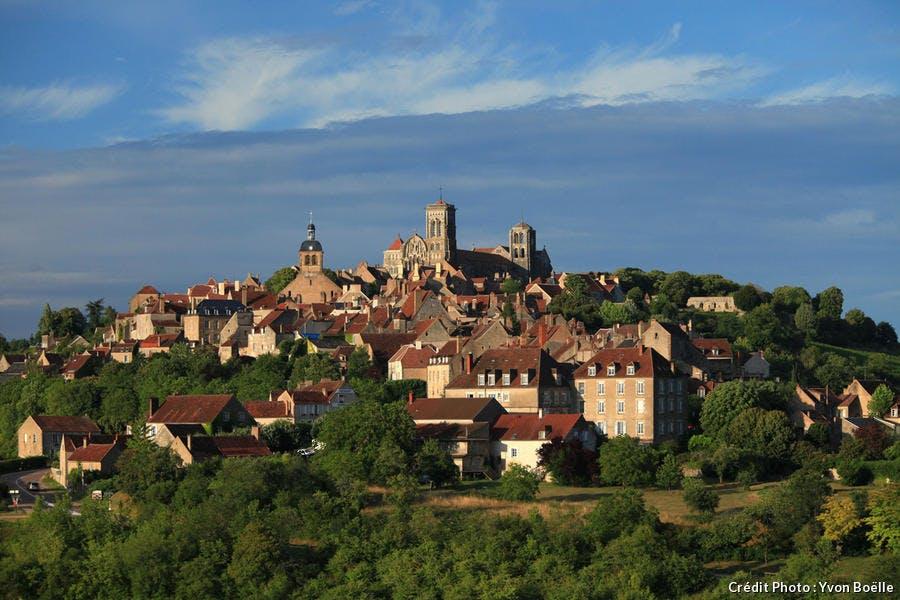 Vézelay et sa basilique Sainte-Marie-Madeleine