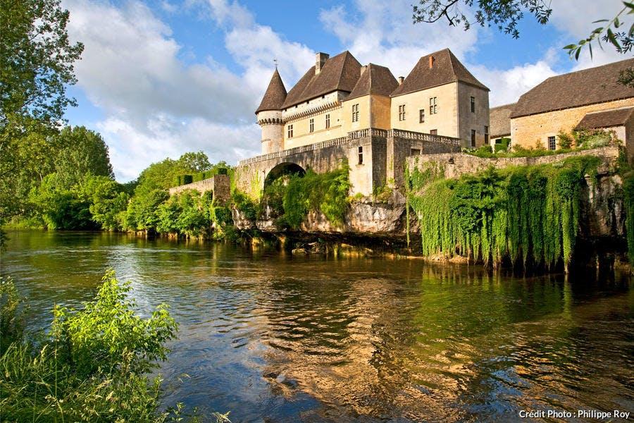 Le château de Losse à Thonac