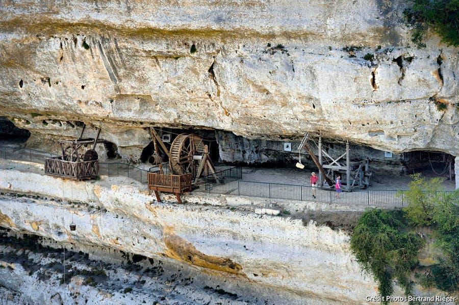 Les terrasses de la Roque-Saint-Christophe