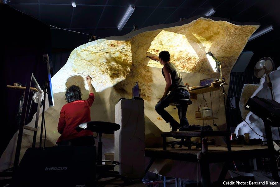 L'Atelier des fac-similés, Lascaux II
