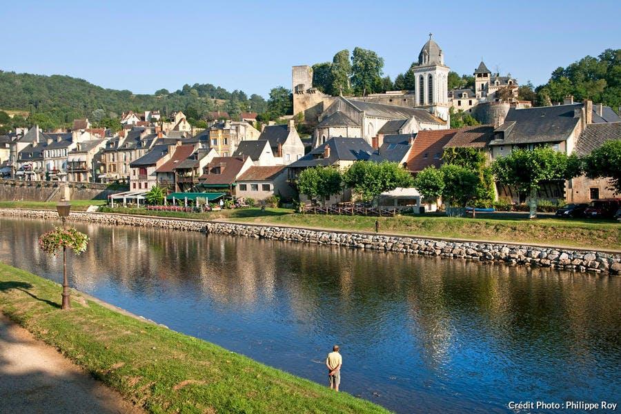 Montignac dans la vallée de la Vézère