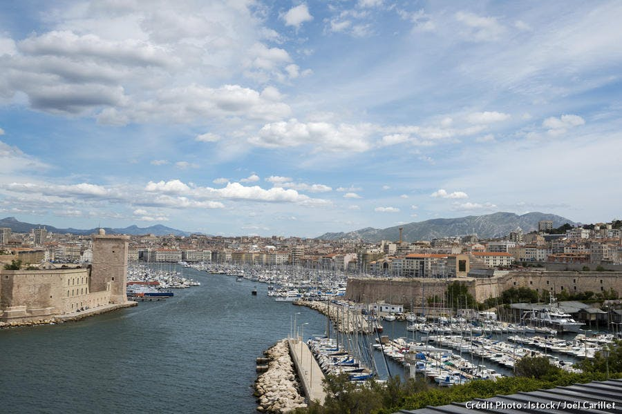Le Vieux-Port de Marseille