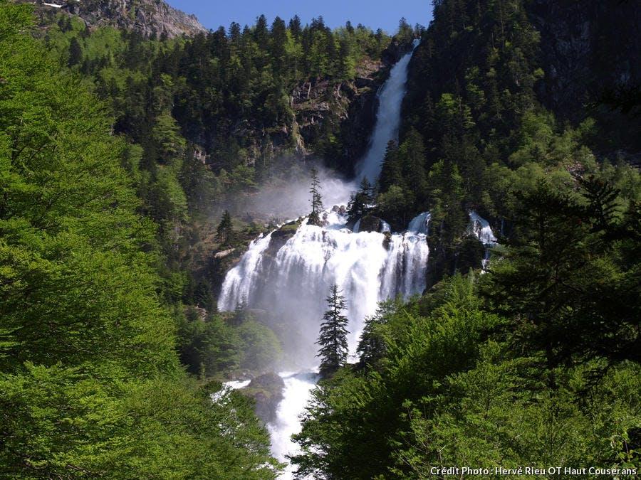 Cascade d'Ars à Aulus-les-bains
