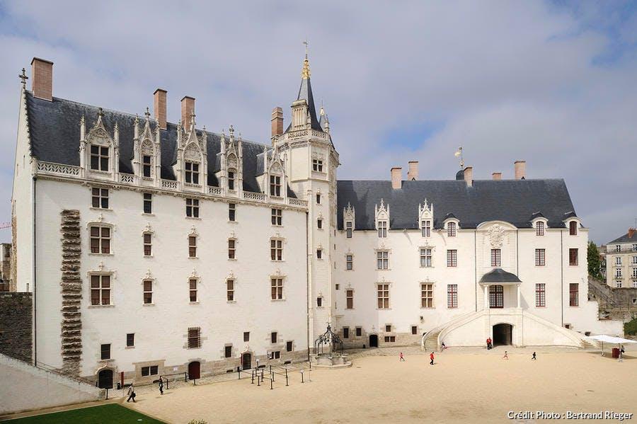 Le château des Ducs de Bretagne, à Nantes