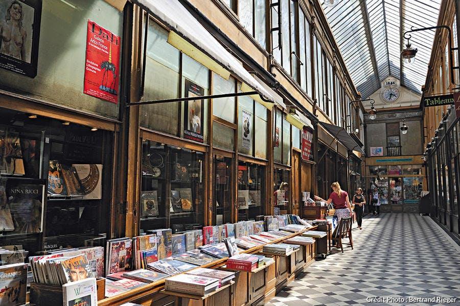 Passage Jouffroy à Paris