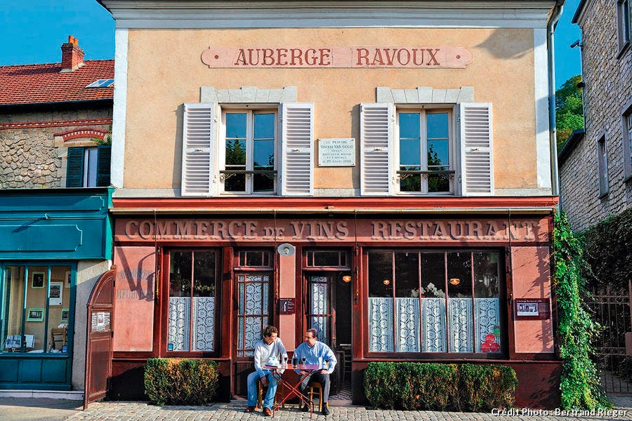 l'Auberge Ravoux à Auvers-sur-Oise