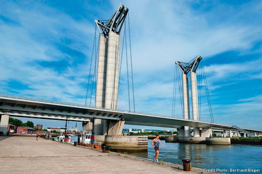 Pont Gustave-Flaubert à Rouen