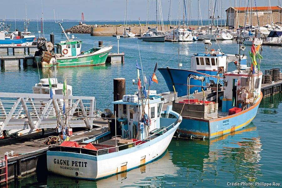 Le port de l'Herbaudière.