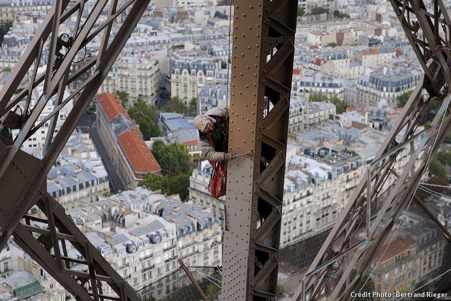 Restauration de la tour Eiffel