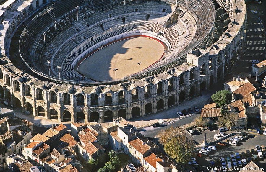 L'anphithéâtre d'Arles
