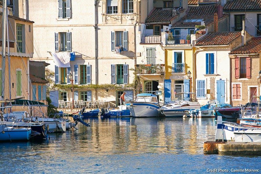 Le miroir aux oiseaux à Martigues