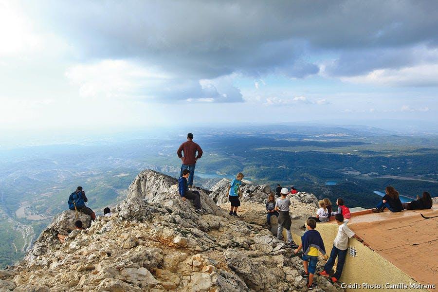 Le sommet de la Sainte-Victoire