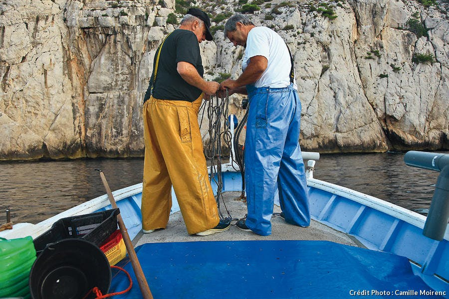 Deux pêcheurs de Sormiou