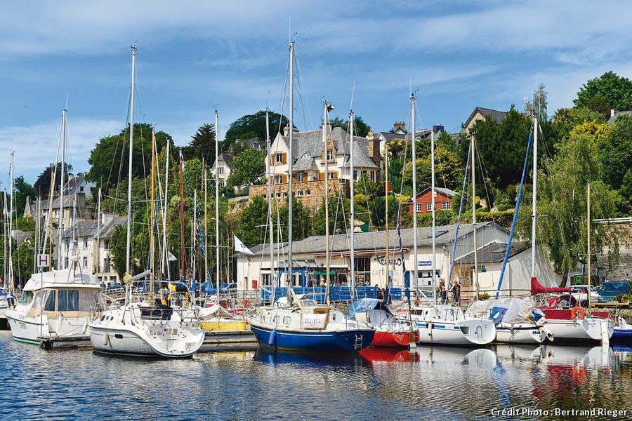 Port de plaisance de Morlaix