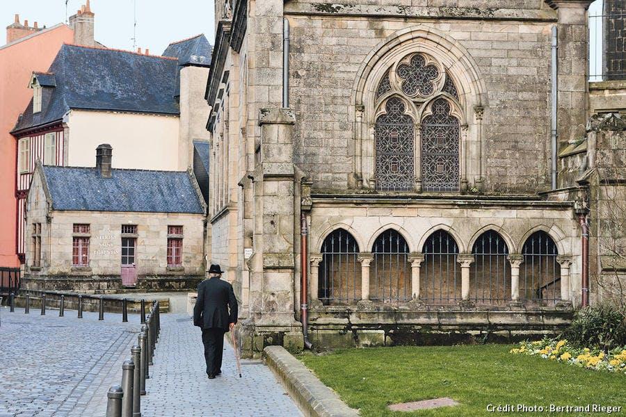 La place Saint-Corentin