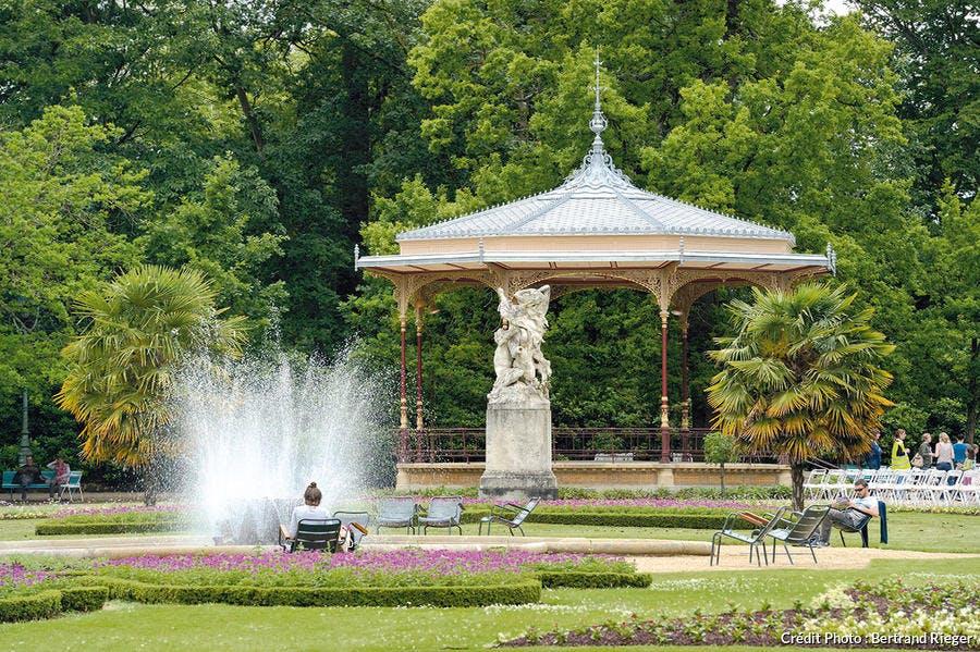 Parc Thabor à Rennes