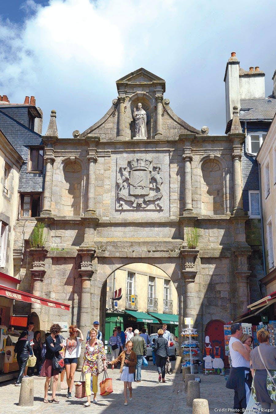Porte Saint-Vincent à Vannes