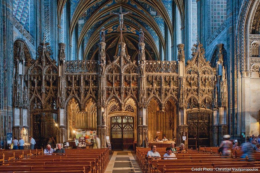 Intérieur de la cathédrale Sainte-Cécile d'Albi