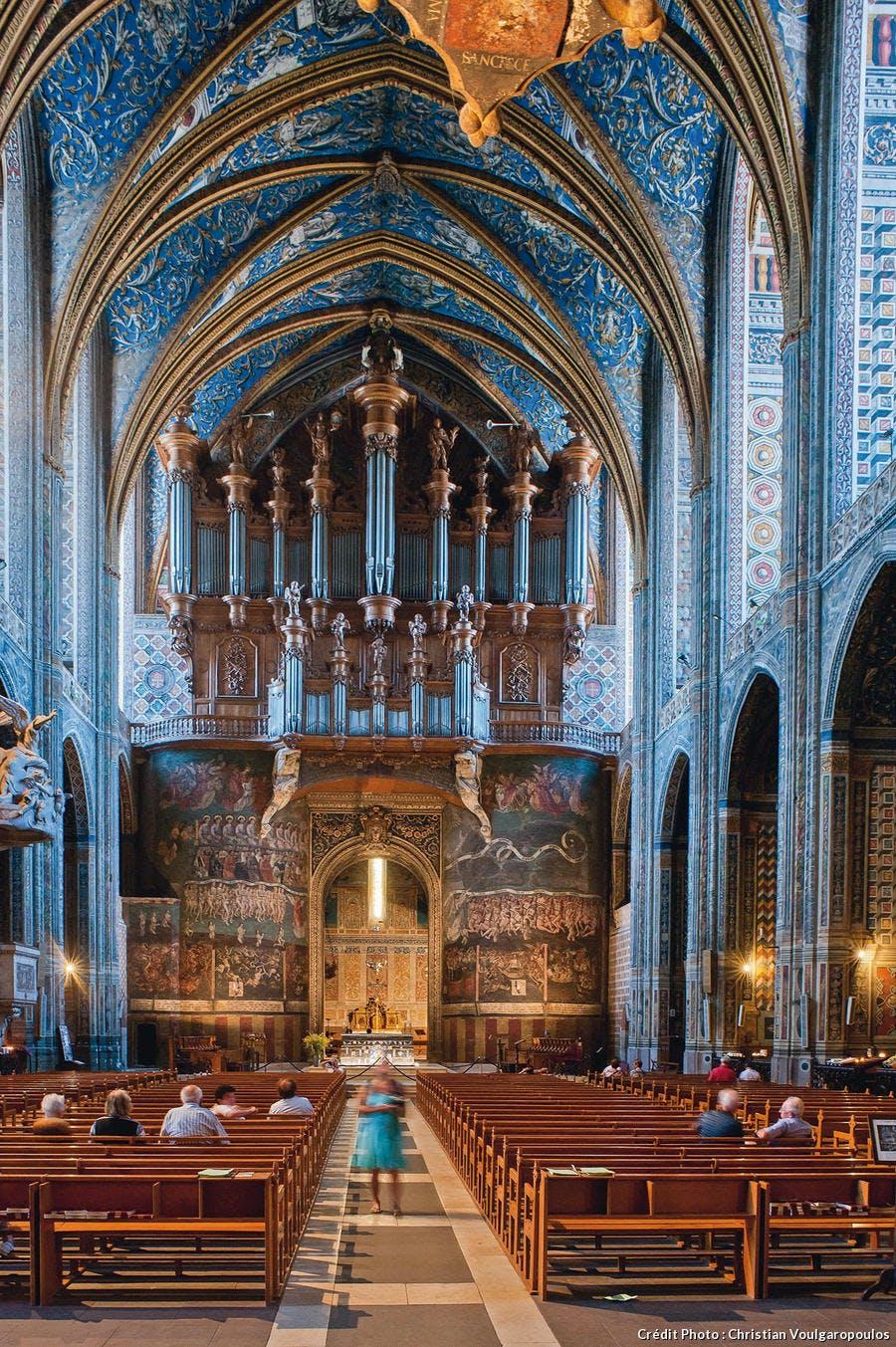 Fresque du jugement dernier de la cathédrale Sainte-Cécile d'Albi