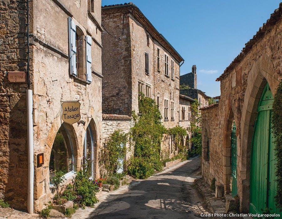 Bruniquel, l'un des plus beaux villages du Quercy