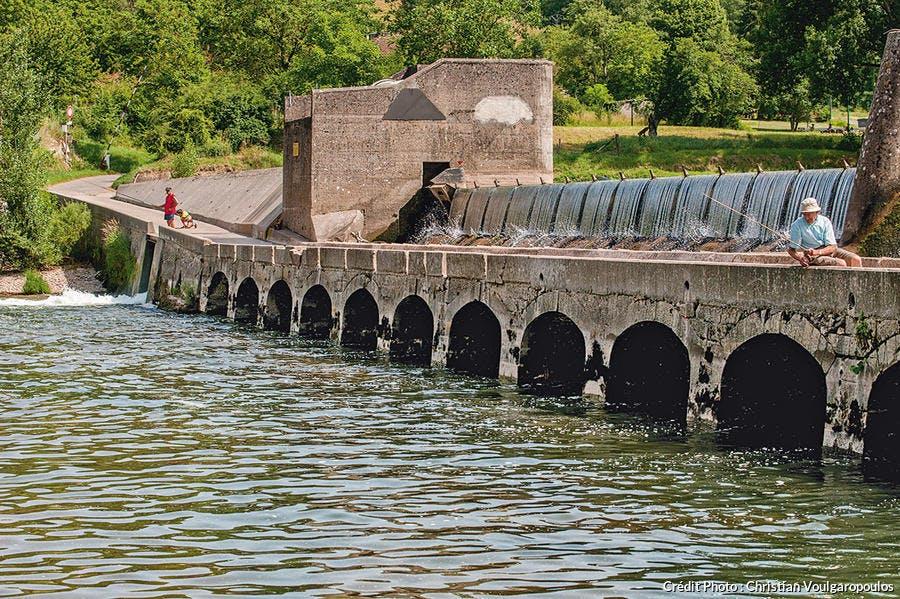 Le barrage hydroélectrique d'Ambialet