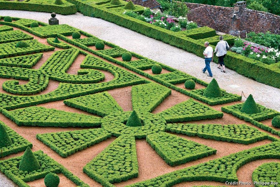 le parc du château de Hautefort