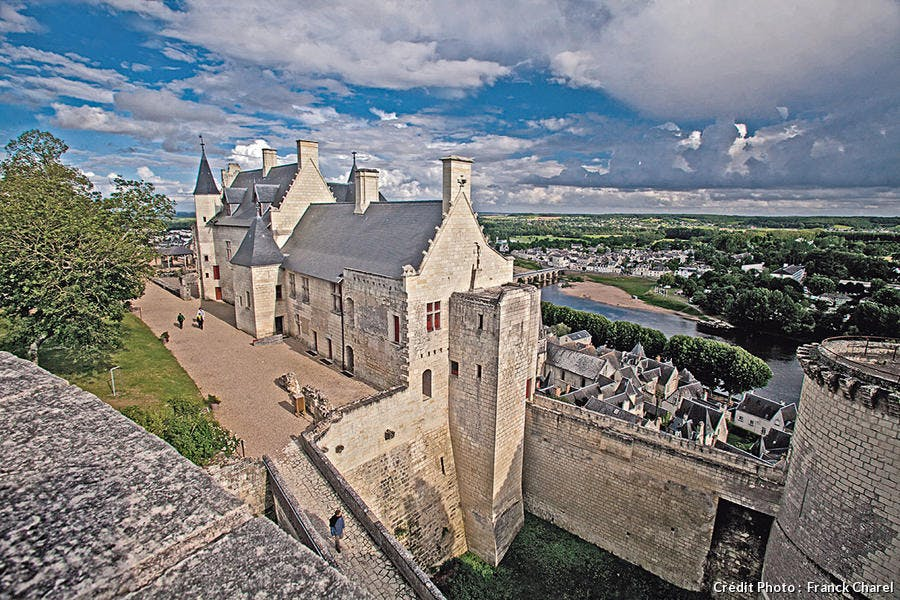 Centre ville de Chinon