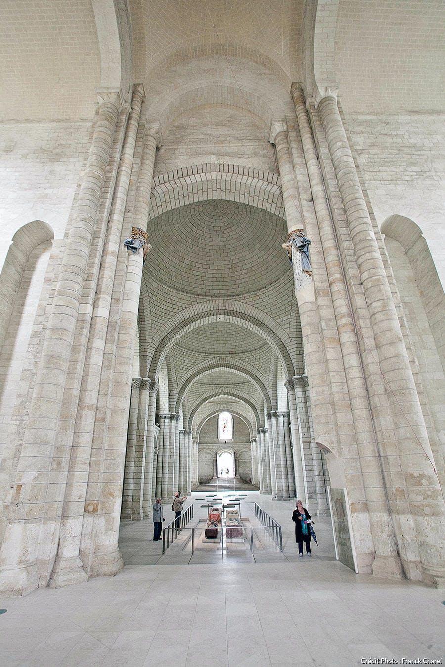 Nef de l'Abbaye de Fontevraud