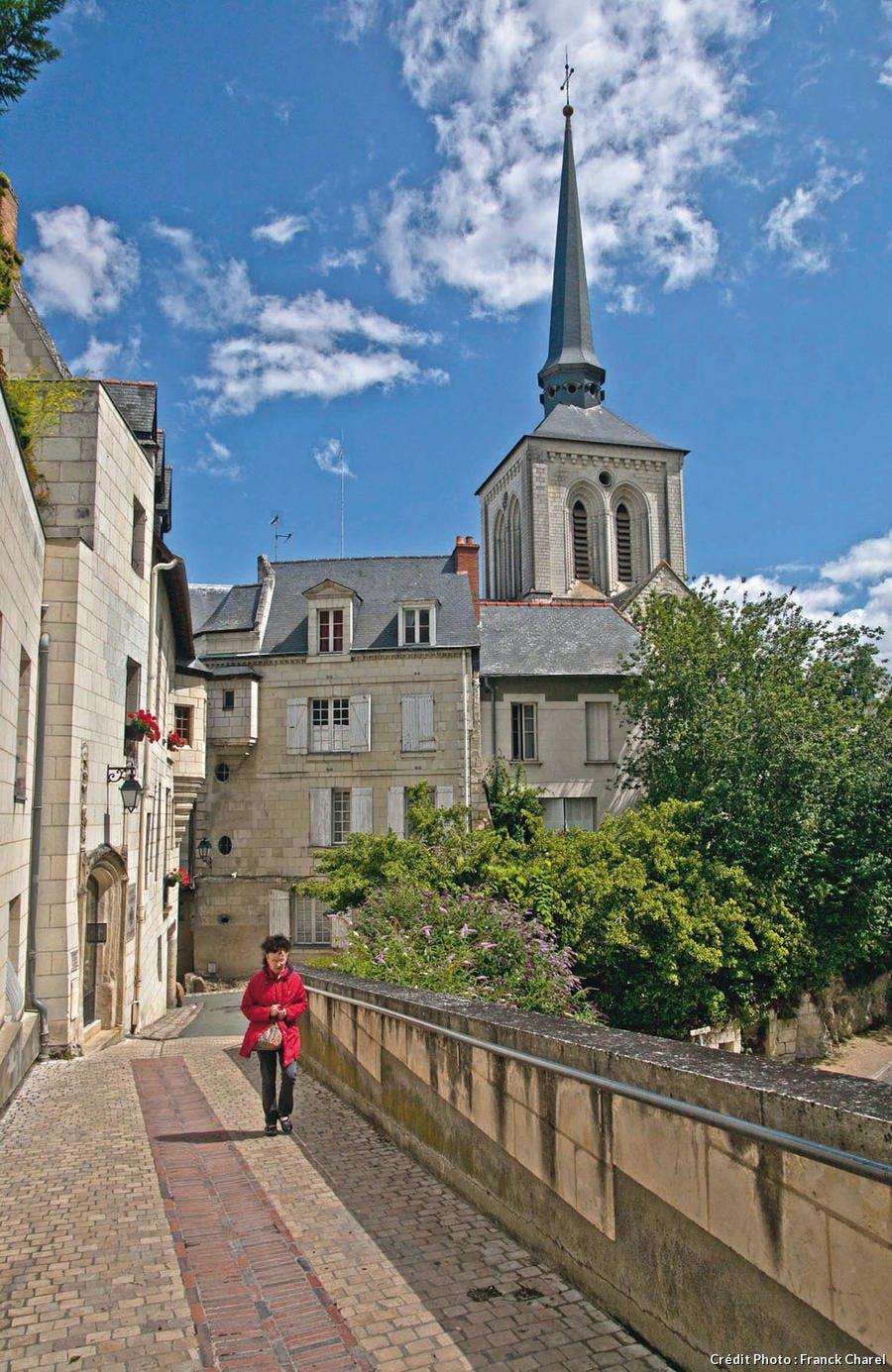 La rue Duplessis-Mornay à Saumur