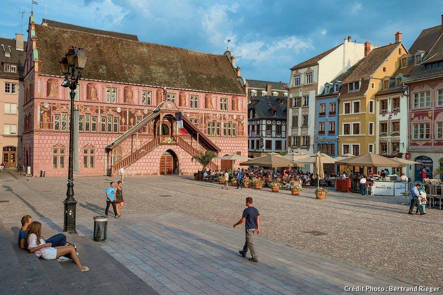 Place de la Réunion Mulhouse